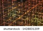 data grid. information... | Shutterstock .eps vector #1428831209