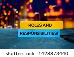 Roles And Responsibilities  On...