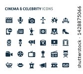simple bold vector icons... | Shutterstock .eps vector #1428875066