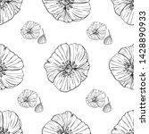 flower popies graphic design....   Shutterstock .eps vector #1428890933
