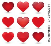 heart love emoji icon object... | Shutterstock .eps vector #1428902159