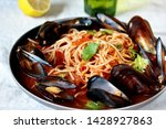 Spaghetti With Mussels  Tomato...