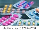 various medicine or drug show... | Shutterstock . vector #1428947900