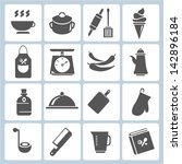 kitchen tool collection ... | Shutterstock .eps vector #142896184