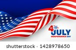 4th of july poster template.usa ... | Shutterstock .eps vector #1428978650