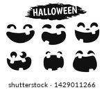 emotional face icon showing a...   Shutterstock .eps vector #1429011266