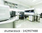 modern medical laboratory | Shutterstock . vector #142907488