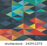 colorful green and red tiled... | Shutterstock . vector #142911373