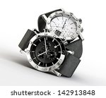 modern watch isolated on a... | Shutterstock . vector #142913848