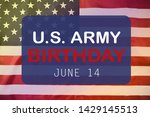 happy american flag day... | Shutterstock . vector #1429145513