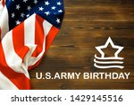 happy american flag day... | Shutterstock . vector #1429145516