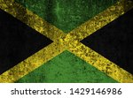 effects of jamaica flag  flag... | Shutterstock . vector #1429146986