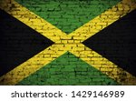 effects of jamaica flag  flag... | Shutterstock . vector #1429146989