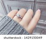 Close Up Of Elegant Diamond...