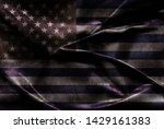 usa flag background for your... | Shutterstock . vector #1429161383