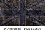 grunge uk flag for your design | Shutterstock . vector #1429161509