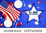 4th of july happy independence... | Shutterstock .eps vector #1429163606