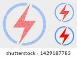 dot and mosaic electricity...   Shutterstock .eps vector #1429187783
