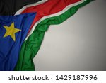 waving colorful national flag... | Shutterstock . vector #1429187996