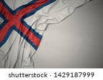 waving colorful national flag... | Shutterstock . vector #1429187999