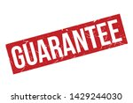 guarantee rubber stamp.... | Shutterstock .eps vector #1429244030