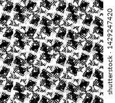 grunge halftone black and white ... | Shutterstock . vector #1429247420