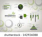 ecology infographics design.... | Shutterstock .eps vector #142926088