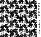 black and white grunge stripe...   Shutterstock . vector #1429262159