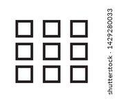 menu icon vector in simple...