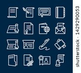 simple set of legal documents... | Shutterstock .eps vector #1429290053