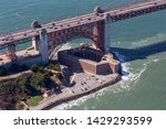 aerial view of fort point... | Shutterstock . vector #1429293599