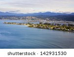 knysna heads. looking from east ... | Shutterstock . vector #142931530