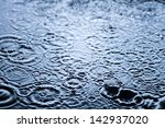 Rain Drops Frozen  Water...