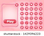 cute popup border candy and...