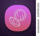 open face powder case app icon. ...