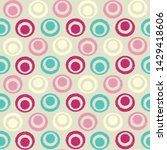 seamless abstract ikat pattern...   Shutterstock .eps vector #1429418606