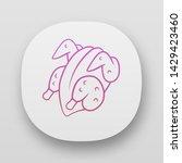 chicken carcase app icon. ui ux ...
