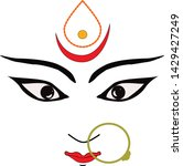 indian best festival god design | Shutterstock .eps vector #1429427249