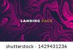 vector abstract marble design.... | Shutterstock .eps vector #1429431236