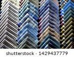 a colorful clean handkerchief... | Shutterstock . vector #1429437779