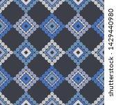 polka dots seamless pattern....   Shutterstock .eps vector #1429440980