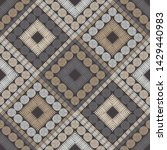 polka dots seamless pattern....   Shutterstock .eps vector #1429440983