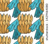 seamless pattern with bunches...   Shutterstock .eps vector #1429464080