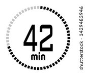 the 42 minutes countdown timer...