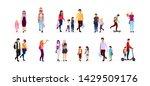 back to school flat vector... | Shutterstock .eps vector #1429509176