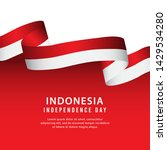 indonesia independence day... | Shutterstock .eps vector #1429534280