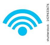 internet wifi signal icon... | Shutterstock .eps vector #1429633676