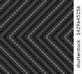 design seamless monochrome... | Shutterstock .eps vector #1429645256