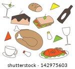 restaurant 5 | Shutterstock .eps vector #142975603