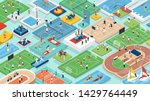 sports and international... | Shutterstock .eps vector #1429764449
